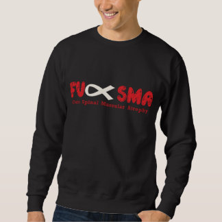 Fu SMA Awareness Ribbon Red Sweatshirt