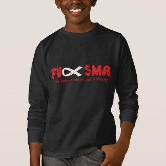 Fu SMA Awareness Ribbon Red T-Shirt