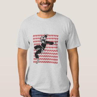 FU Super Rage Meme Face Ninja Shirt