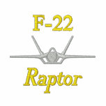 FU Wings on Golf Polo with F-22 and Call Sign
