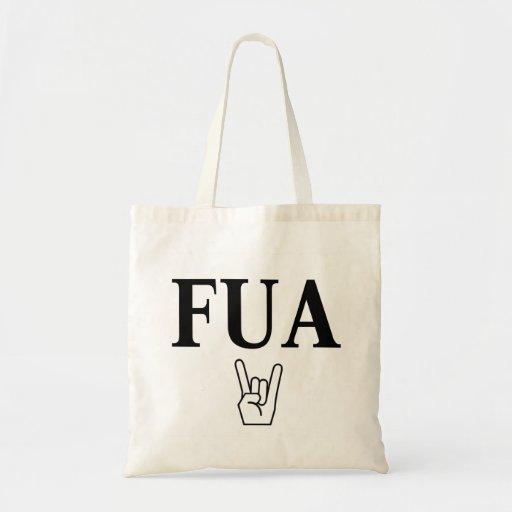 FUA! tote bag
