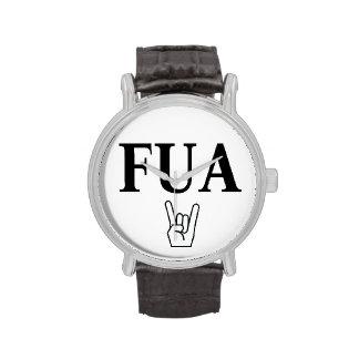 FUA watch