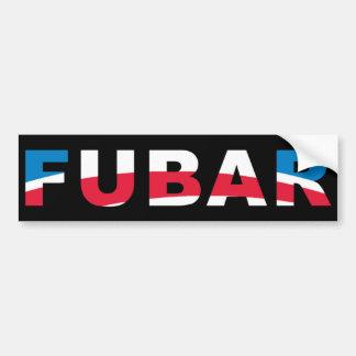 FUBAR CAR BUMPER STICKER