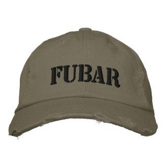 FUBAR GORRA DE BEISBOL BORDADA