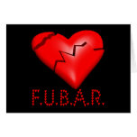 FUBAR GREETING CARD