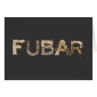 FUBAR GREETING CARDS