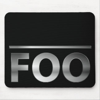 "FUBAR or is it ""foo bar""? Mouse Pad"