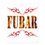 FUBAR POST CARD