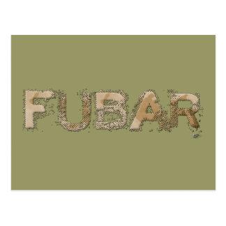 FUBAR POST CARDS