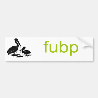 FUBP BUMPER STICKER