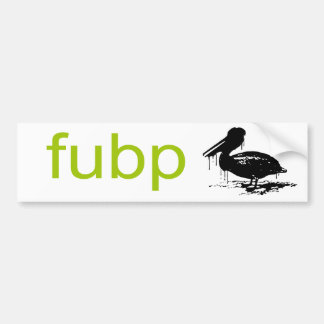 FUBP BUMPER STICKERS