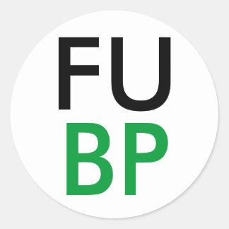 FUBP ROUND STICKERS