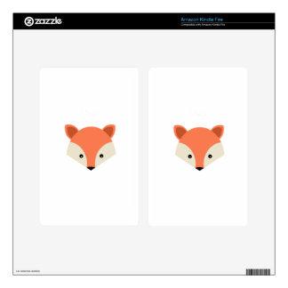 Fuchs Animal Nature Cute Mammal Predator Kindle Fire Decals