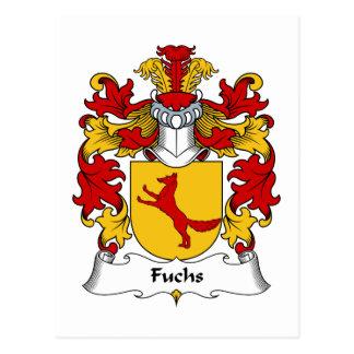 Fuchs Family Crest Postcard