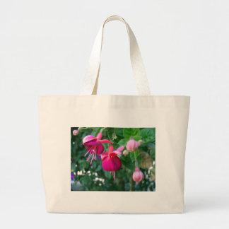 Fuchsia 1 large tote bag