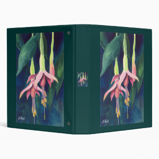 Fuchsia 3 Ring Binder