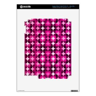 Fuchsia Abstract iPad 3 Decal