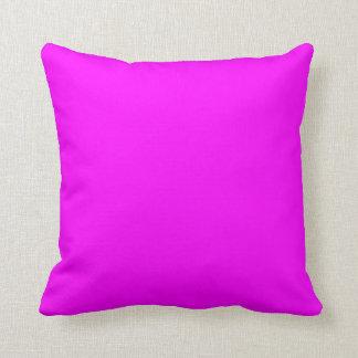 Fuchsia American MoJo Pillow