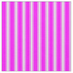 [ Thumbnail: Fuchsia and Lavender Colored Stripes Fabric ]