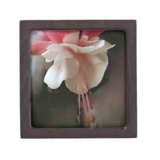 Fuchsia Bloom Premium Keepsake Box