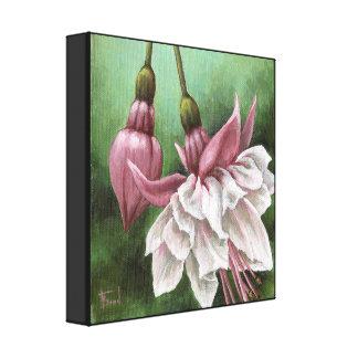 Fuchsia Stretched Canvas Print