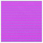 [ Thumbnail: Fuchsia & Dark Turquoise Lined/Striped Pattern Fabric ]