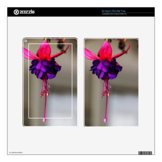 Fuchsia Decals For Kindle Fire