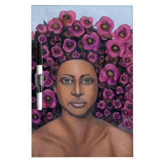 Fuchsia Dry Erase Board