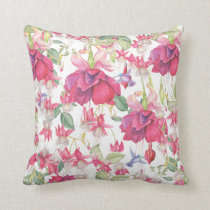 Fuchsia Fantasy  Accent Pillow