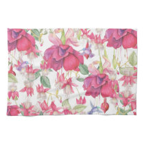 Fuchsia Fantasy Kitchen Towel