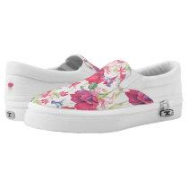 Fuchsia Fantasy Slip-On Sneakers