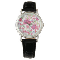 Fuchsia Fantasy Wrist Watch