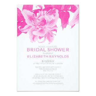 Fuchsia Flower Bridal Shower Invitations Invitations