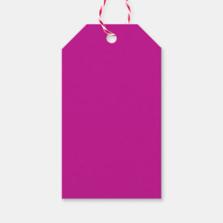 Fuchsia Pack Of Gift Tags