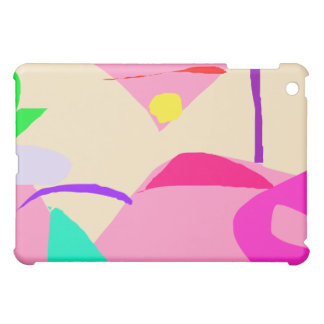 Fuchsia Natural Closed Eyes Insight Dubitation iPad Mini Cases