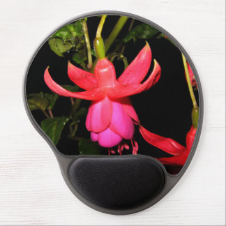 Fuchsia Pink Drops Gel Mouse Pad