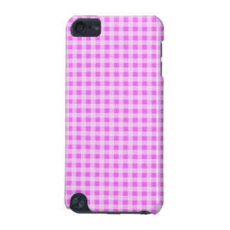 Fuchsia Pink Gingham; Checkered iPod Touch 5G Cover