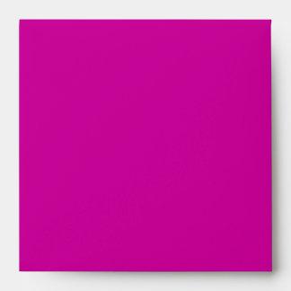 fuchsia pink pattern envelopes