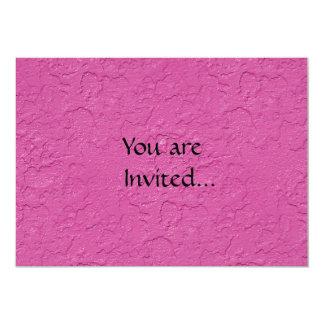 Fuchsia Pink Stucco Look Card