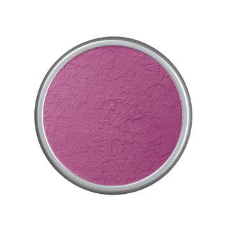 Fuchsia Pink Stucco Look Speaker