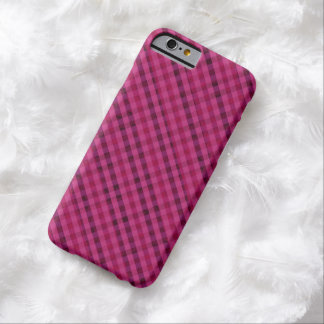 Fuchsia Plaid - Custom iPhone 6 Case