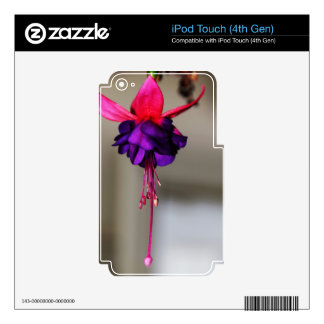 Fuchsia Skin For iPod Touch 4G