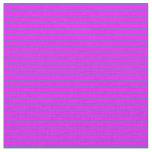 [ Thumbnail: Fuchsia & Slate Blue Striped/Lined Pattern Fabric ]