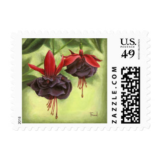 Fuchsia Stamps