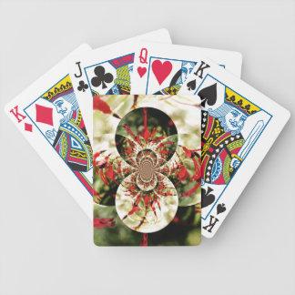 Fuchsia 'Tom Thumb' Bicycle Playing Cards