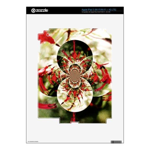Fuchsia 'Tom Thumb' iPad 3 Decals