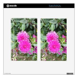 Fuchsia Twins Kindle Fire Skins