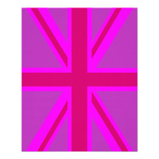 Fuchsia Union Jack Flyer