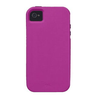 FUCHSIA WAS MAGENTA (a solid name-changed color) ~ iPhone 4 Case