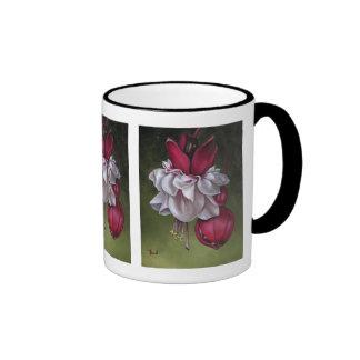 Fuchsias Ringer Mug